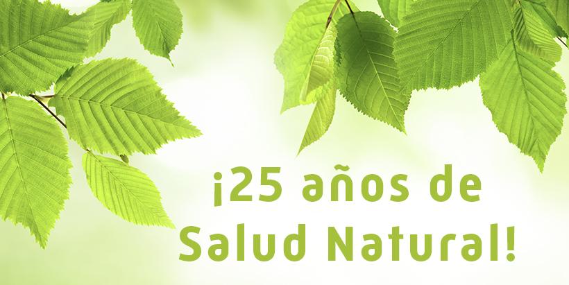 25 años de Salud Natural