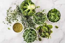 Vitamin K grünes Gemüse